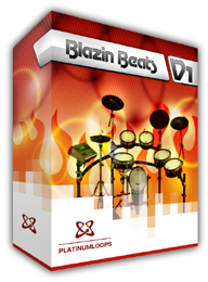 Hip Hop Drum Loops - Blazin Beats
