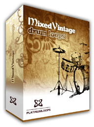 Mixed Vintage Drum Loops for Reason