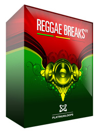 Live Reggae Drum Loops for Reason