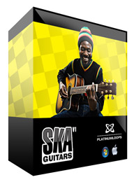Ska Reggae Guitar Loops for Reason Refills