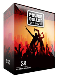 Power Ballad - Soft Rock Drum Loops