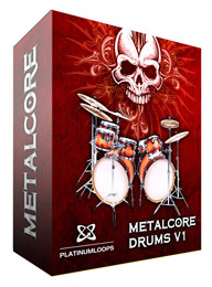 Metalcore Drum Loops for Reason