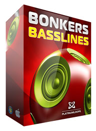 Bonkers Basslines - Electro House Samples for Reason Refills