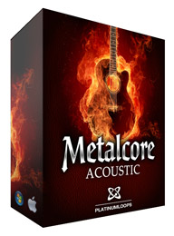 Metalcore Acoustic Guitar Loops for Reason