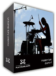 Modern Funk Drum loops Reason Refill