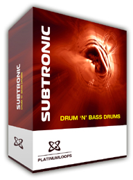 Drum n Bass drum loops for Reason Refills- Subtronic